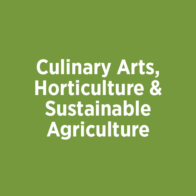 Culinary Arts, Horticulture & Sustainable Agriculture Button
