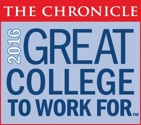 2016 Great College to Work for logo